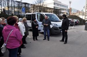 Primátor Igor Choma odovzdal do užívania verejnosti tzv. sociálny taxík